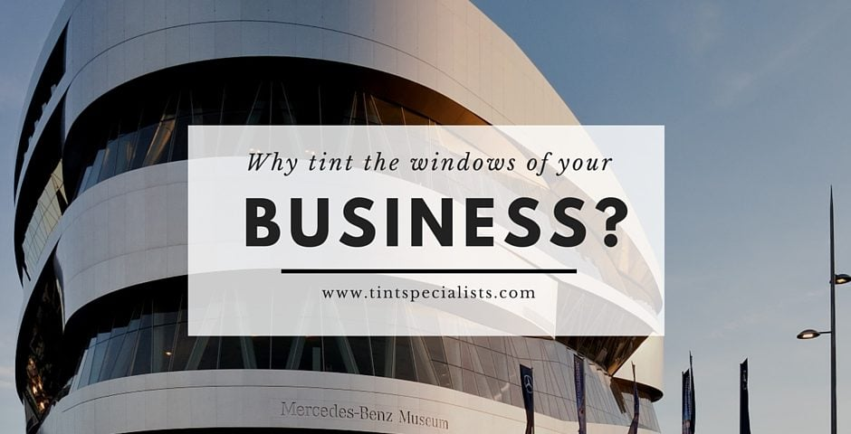 Commercial window tinting in Murray Utah